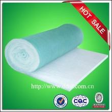 Spray booth filter made of fiberglass mat