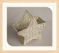 Star Shape Gift Basket for Holiday