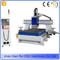 High configuration 4 axis advertising cnc router carving machine/4 axis cnc router manufacturer supplier