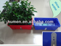 Magic beautiful water automatic plastic flower POTS
