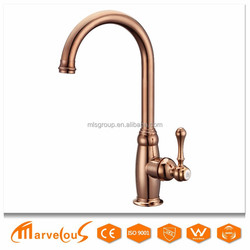 New design In China Hot And Cold Water Mixer Brass Body Kitchen Faucet