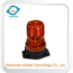 LED Bolt-Mount Beacon Light - 20 Watts, DC 10V-110V,30 SMD 5050, Amber
