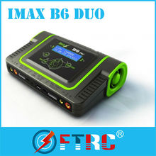Top seller!! IMAX B6 Duo 400W RC Lipo dual battery balance Charger with the best factory price