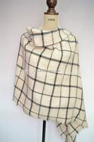 Winter warm 100% acrylic classical plaid 140*140 Blanket Men Scarf Shawl