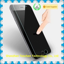 5.5inches tempered glass clear clear screen protector for iphone 6 plus