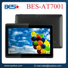 Cheapest capacitive touch screen external 3G wholesale 2014 tablet pc wifi android netbook