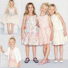 New fashion girl dress,summer lace girl dresses,children girl party dress