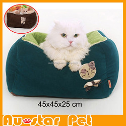 2015 New Design Warm Super Soft Sofa Dog Bed Pet Supplies for Cats