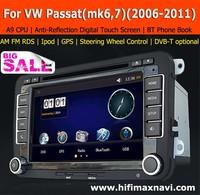 Hifimax car radio for vw passat b7 car gps navigation vw golf 5 dvd navigation for VW Golf 6 car dvd system gps navigation