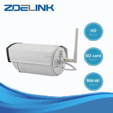 Latest new model white wireless ip camera bullet p2p ip camera outdoor
