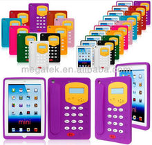 Tablet case cover unique telephone 3d silicone case for ipad mini, for ipad case silicone , for ipad mini case silicone
