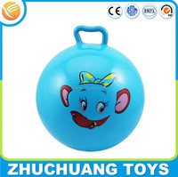 wholesale cheap inflatable kids pvc hopper body bounce sport ball