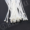 High quality white whether resistant nylon soft cable tie, cable ties( any size can be made)