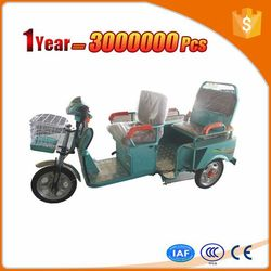 people 48v500w differential brushless motor electric tricycle for cargo