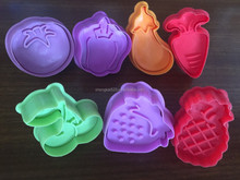 Cake insects patterns plastic sugarcraft plunger cutter/cookie cutter stamp