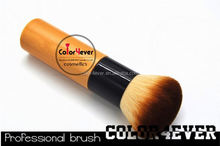Eco friendly Sythetic Hair high quality Bamboo Powder makeup brush nylon makeup brush
