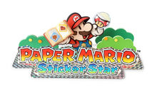 Top Grade Quality Waterbased Mario Paper 3d Laser Sticker for study