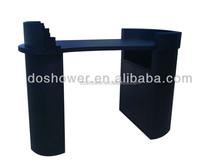 DS-S136 beauty salon unique black nail table for sale salon furniture