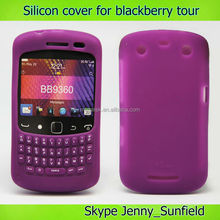 Mobile phone accessories phone case keypad cover silicon case for Blackberry tour 9360, for blackberry case
