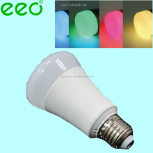 Wi-Fi LED Light Bulb - 6W Dimmable Multicolored Color Changing LED Lights Smart LED Light Bulbs