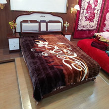 Qiu dong season raschel blanket thickening double single dormitory blanket that double wedding anniversary special package mail