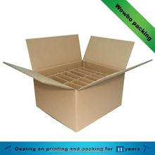 High Quality Corrugated Boxes with Compartments
