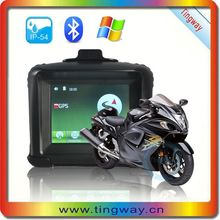 High sensitivity 3.5 inch Handsfree motorcycle for sale in italy used,Bike GPS navigation