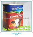 venta al por mayor de alimentos halal en lata de carne en conserva en lata