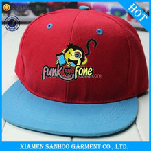 Custom High Quality Fashion 100% Cotton Colourful Digital Printed Fabric Snapback Cap 2015 Men