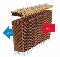 Poultry Honeycomb Cooling Pad With Frame