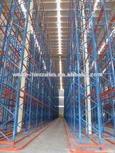 estanteria penetrable/drive in con carga pesada/acero drive-in estante de almacen