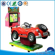 New design hot selling swing car,Funny coin operated car kids ride on car