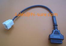 J1962 OBDII Female to Volvo8P cable for obd volvo truck 8 pin diagnostic cable