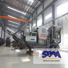SBM portable mounted impact crusher in the stone quarry plant dominican republic