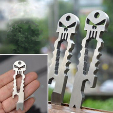 Personalized Skull Tactical EDC Crowbar Screwdriver For Hiking Multipurpose Pocket Tools Outdoor Camping Equipment Survival Gear