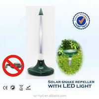 High efficiency solar electronic ultrasonic snake repellent