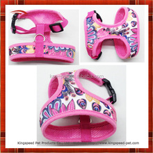 2015 hot selling high quality customized soft dog pet harness