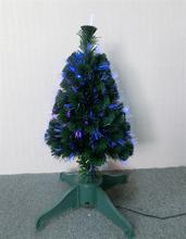 China new design popular tree snowing christmas tree fiber optic christmas tree