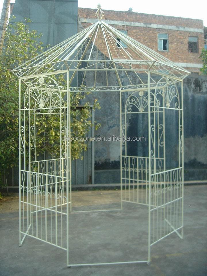 Garden Metal Gazebo : Decorative Garden Metal Gazebo K/d - Buy Round Metal Gazebo,Metal ...