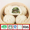 steamed stuff bun with different filling