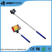 selfie stick extendable hand held monopod , cartoon selfite stick with bluetooth