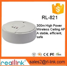 Wireless Ceiling AP 300N AP 300M High Power / WIFI Repeater POE Power Supply KTV Hotels Covered