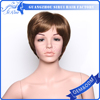 Bright Color Synthetic Highlighted Shot Wigs Natural Bobo Wigs for Black Women