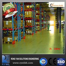 adjustable Q235 power coating ISO9001&CE multi-layer mental storage drive in pallet racking