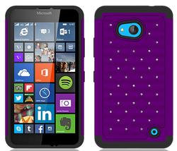 Competitive Price Diamond Star Hybrid case for Nokia Lumia 640