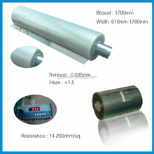 10 years factory price computer screen shielding metalized film ito pet film