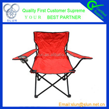 600D polyester outdoor iron wood folding chair hot sale