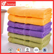 70% bamboo fabric 30% cotton hand towel