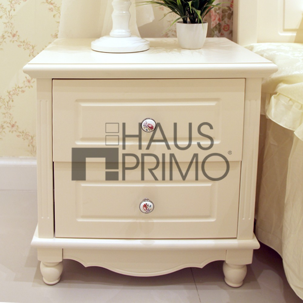 Bedroom Furniture 2 Drawers White Wooden Nightstands Buy White