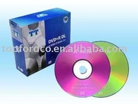 8.5GB Double Layer DVD+R with slim jewel case package